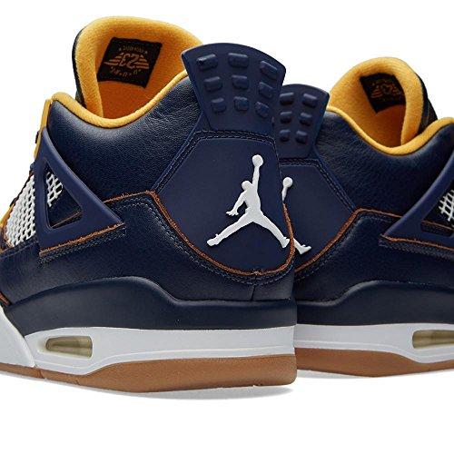 Uomo Nike Scarpe Retrò Blu Air Da Jordan 4 Ginnastica x1gq6vn10w