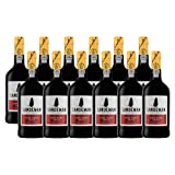 Portwein Sandeman Ruby - Dessertwein- 12 Flaschen