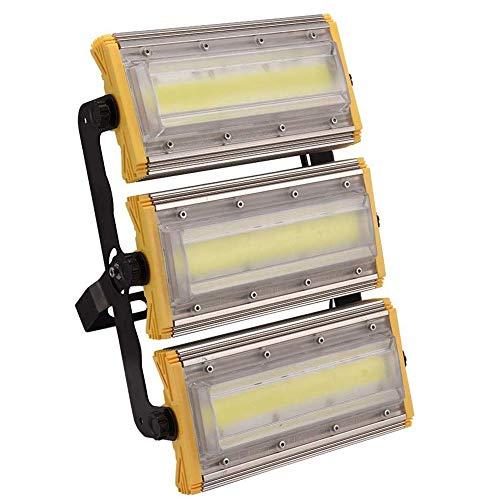 HDZWW LED-Flutlicht 150W, im Freien wasserdichten IP65 super helle Flut-Lampe kühlen Weiß-Scheinwerfer-Lampe Tageslicht for Garten-Yard, Party, Spielplatz, Stadion und Square -