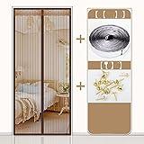 die tür Fliegengitter für Türen, sommer - fenster - schlafzimmer mücke vorhang-B-110x200cm(43x79inch)