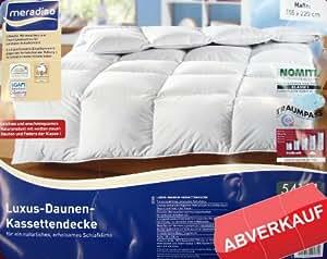 MERADISO 960g DAUNEN Bett Decke 135 x 200 TRAUMPASS NOMITE Allergiker Bettdecke