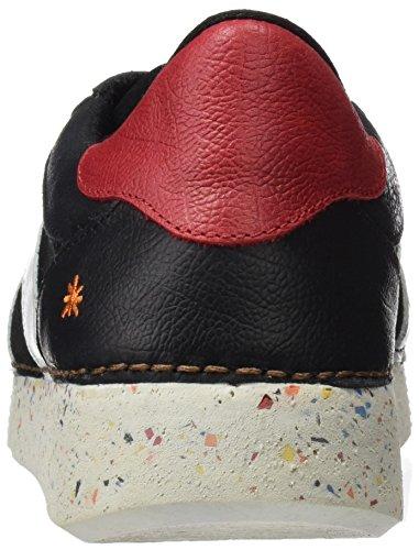 ART 1131 Memphis I Express, Ballerines Derby Homme Noir (Blackwhite)