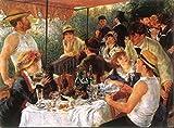 Renoir Leinwanddruck, Das Frühstück der Ruderer (1880-1882), 50 x 70 cm, ohne Rahmen