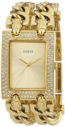 Guess W0312L2 - Reloj de pulsera mujer, acero inoxidable, color dorado
