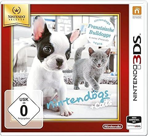 Nintendogs + cats Franzesische Bulldoge - Nintendo Selects [import