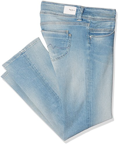 Pepe Jeans Damen Venus Jeans, Blau (Denim), 34(UK)