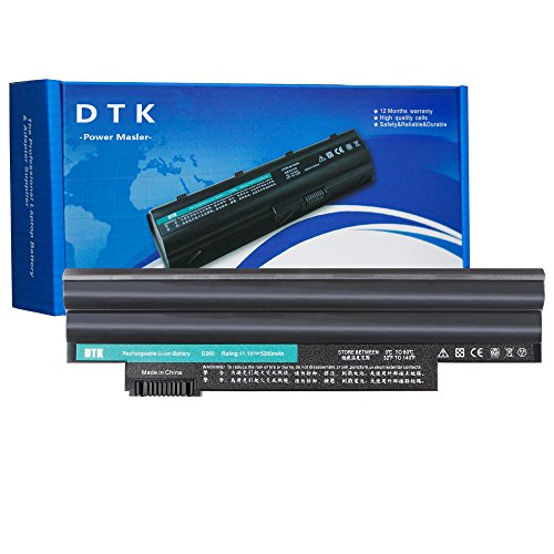 Dtk Portatile Nuovo Batteria di Ricambio per Acer Aspire One D255 D257 D260 522 722 Netbook Battery AL10A31 AL10B31 AL10BW AL10G31 BT.00603.121 LC.BTP00 notebook battery (11.1V 4400MAH 6CELLS) 12 Months Warranty