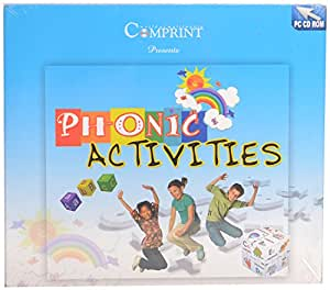PHOENIC ACTIVITIES CD FOR AGE GROUPS 4-8 YRS - LEARN PHOENIC ACTIVITIES EDUCATIONAL CD