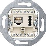 Merten 465707 Kombidose UAE/TAE (Kat 3), 8(6)-6F+N, weiß