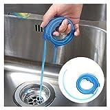 GPF 2 Stück Rohr Aushubwerkzeug Expansion Typ Waschbecken Haar Reiniger Nützlich Küche Rohr Dredge WC Plunger