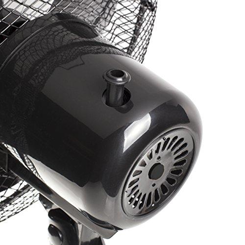 Ventilateur de table Tristar VE-5931 – 30 cm – Oscillant – Noir