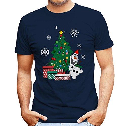 Olaf Around The Christmas Tree Frozen Men's ()