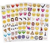 Emoji Sticker Whats App Tagebuch Sticker 19 Blatt 912 Stück Vergleich