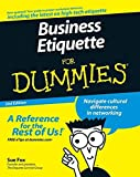 Business Etiquette For Dummies