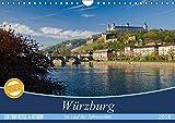 Würzburg - Im Lauf der Jahreszeiten (Wandkalender 2018 DIN A4 quer): Ansichten der Stadt Würzburg im Wechsel der Jahreszeiten. (Monatskalender, 14 ... [Kalender] [Apr 01, 2017] Müther, Volker - Volker Müther