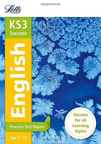 KS3 English Practice Test Papers (Letts KS3 Revision Success)
