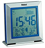 Mebus 88211 funkgesteuerte Wetterstation, kabellos, Wetterprognose