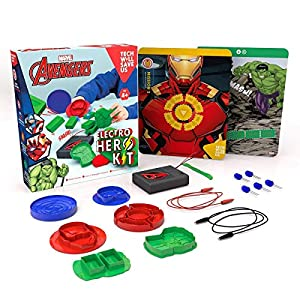 Technology Will Save Us - Juguete educativo Avengers: Electro Hero Kit