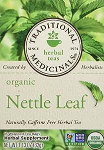 Traditional Medicinals Organic Nettle Leaf Herbal Tea 1.13 Oz (16 Tea Bags)