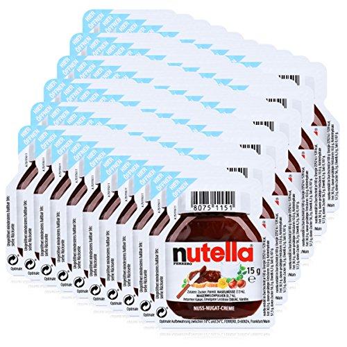 Las porciones individuales de Nutella - 60 x porción 15g