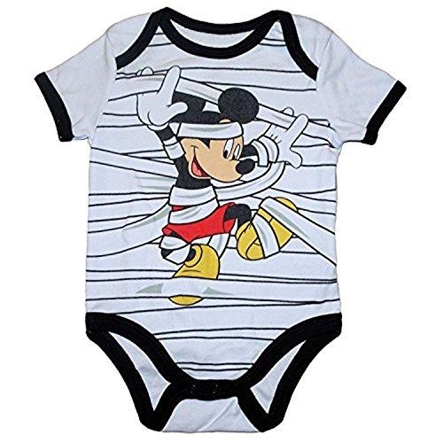 Mickey Mouse Mumie Halloween Baby Boys Body (Neugeborenen)