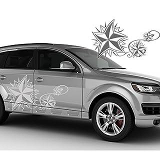 Car Sticker Auto Tattoo Stars 3Stars Design