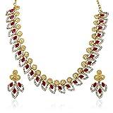 Atasi International Fuchsia Necklace Set