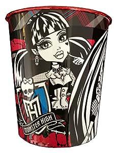 Corbeille à papier poubelle de bureau Monster High