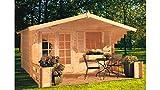 Outdoor Gartenhaus/Blockbohlenhaus Orlando 1