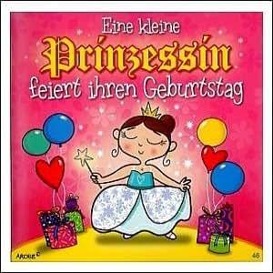 Geburtstagskarte mit Musik 3868-046 Prinzessin: Amazon.de