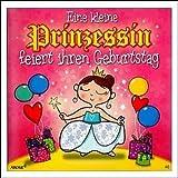 Geburtstagskarte mit Musik 3868-046 Prinzessin