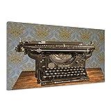 Schreibmaschine Jahrgang Underwood Alte Old Antike Retro Leinwand uu0242 90x60