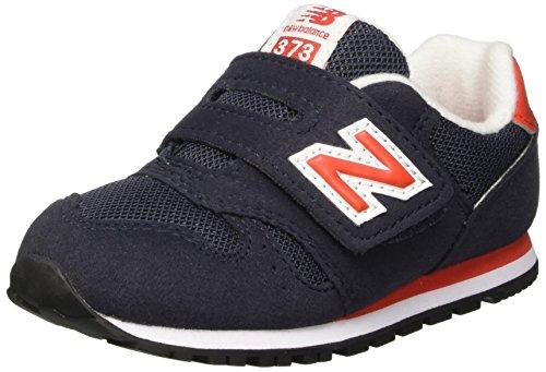 New Balance Nbkv373vri, Scarpe Standing Baby Bambino Blu (Navy Red)