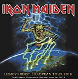 Iron Maiden LEGACY OF THE BEAST TOUR 2018 Live 2CD set in digisleeve [Audio CD]