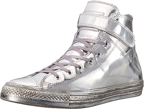 Chuck Taylor All Star Brea Metallic, Silver, 36 -