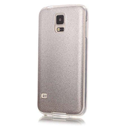 Preisvergleich Produktbild BONROY ® TPU Schutzhülle für Samsung Galaxy S5 G900/S5 Neo SM-G903F case Wallet Schale Tasche Silikon Back Cover Etui Skin Shell Handyhülle Intarsien Weich - Where's my other half-bra