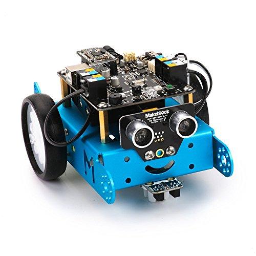 51%2Bmj7%2BtcAL - Makeblock 90050 - Robot Educativo mBot, STEM Arduino programable con Scratch
