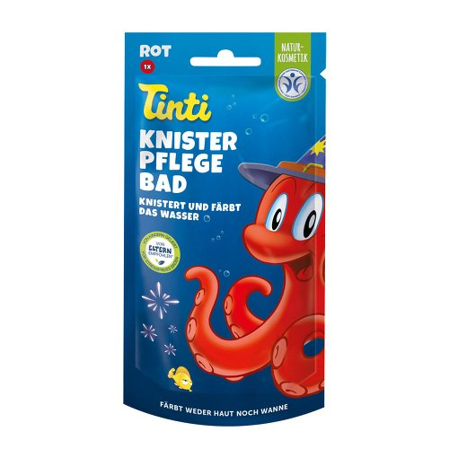 TINTI Knister Pflegebad rot ThekenDisplay 50 g Bad