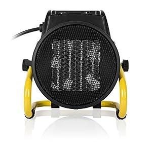 Tristar KA-5060 Calefactor eléctrico, 2000 W, Negro y amarillo