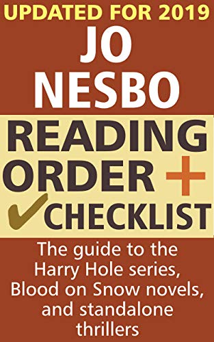 Jo Nesbo Reading Order and Checklist: The guide to the Harry Hole ...