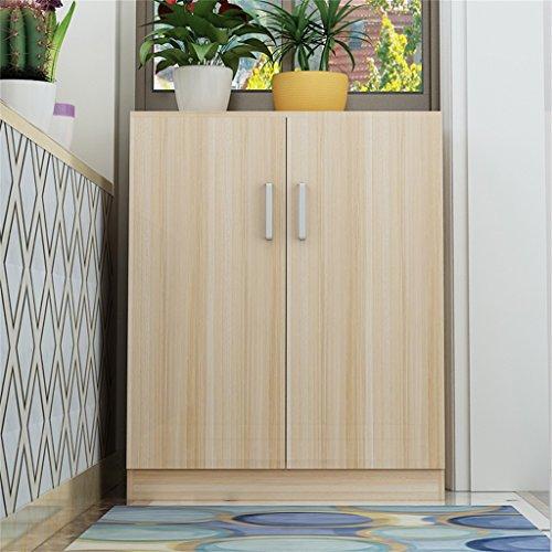 Tlmy scarpiera in legno semplice e di grande capacità scarpiera (colore : light walnut)