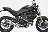 ZARD Edelstahl-Endtopf Special Edition Ducati Monster 797, 17- (Euro 4) Silber
