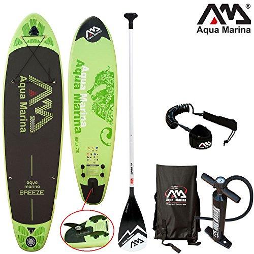Aqua Marina BREEZE 9'9″ aublasbares SUP Board Combo 2 /… | 04260452060984