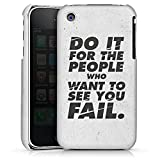 DeinDesign Apple iPhone 3Gs Coque Étui Housse Do it for The People