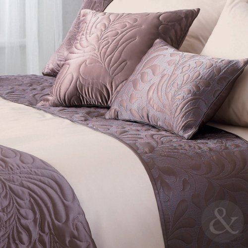LUXURY BROWN CREAM Duvet Cover Poly Cotton Bedding Bed Linen QUILT COVER SET Super King Size Duvet Cover ( Superking size )
