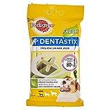 Pedigree Dentastix Fresh Hundesnacks für junge und kleine Hunde, 10 Stück, 110 g