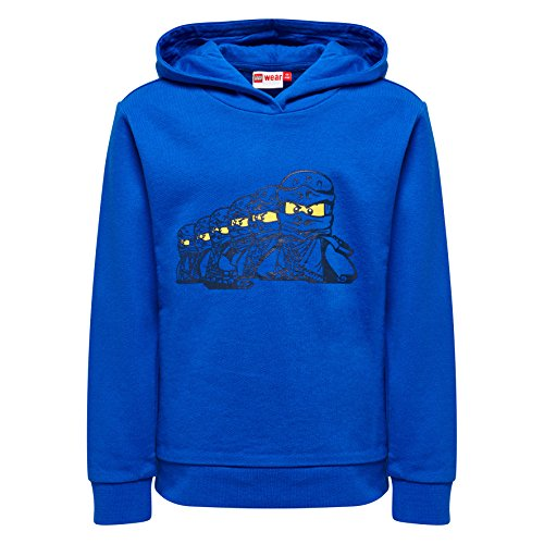 Lego Wear Jungen Sweatshirt Lego Ninjago Sebastian 303 Blau (Blue 569) ()