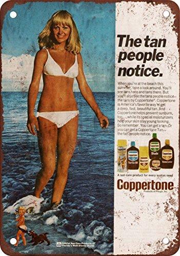 1974-coppertone-marron-vintage-look-reproduccion-metal-tin-sign-8-x-12-pulgadas