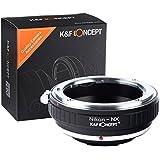 K&F Concept Nikon - NX Objektiv Mount Adapter Ring Objektiv Adapterringe für Nikon Objektiv Adapterringe auf Samsung NX AI-NX