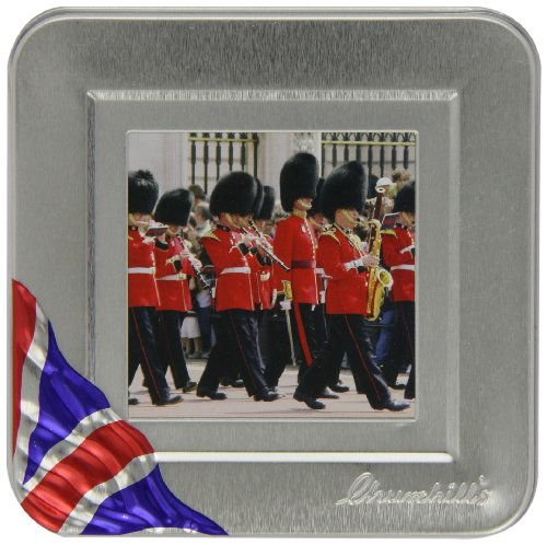 Wein Zahnfleisch?Love London Silber Box?traditionellen englischen Wein Zahnfleisch in Silber Metall Box -